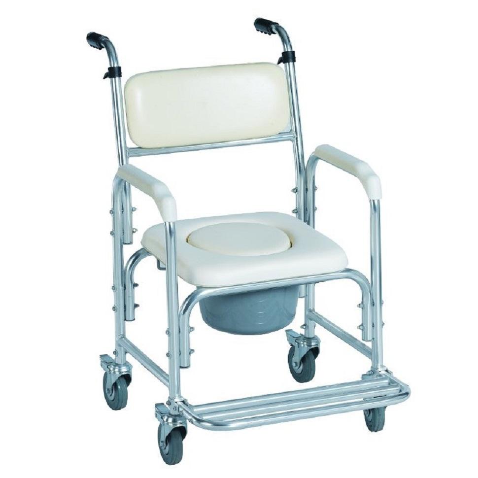 silla inodoro para ducha con ruedas
