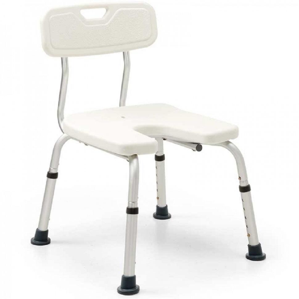silla para ducha con respaldo