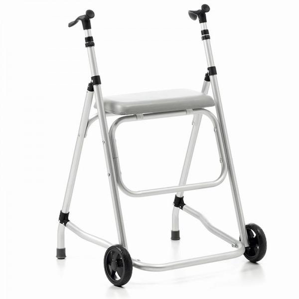 andador 2 ruedas con asiento