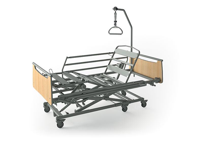 Alquiler de cama articulada para ancianos