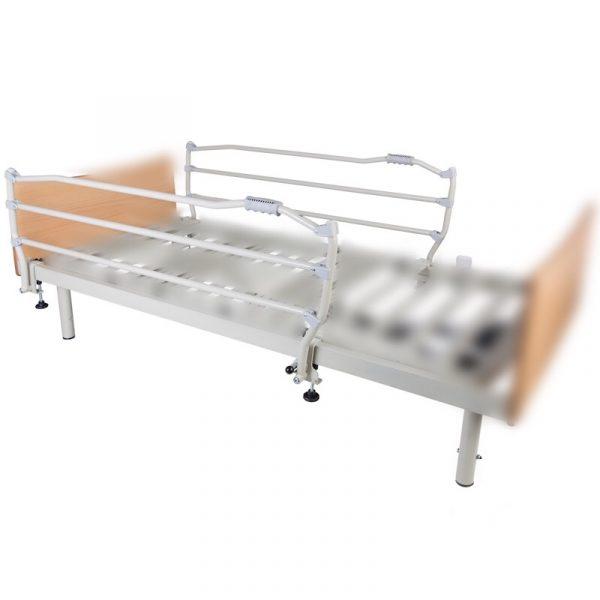 cama articulada con barandillas
