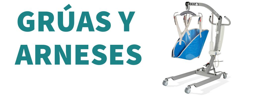 Grúas y arneses de ortopedia en Valencia