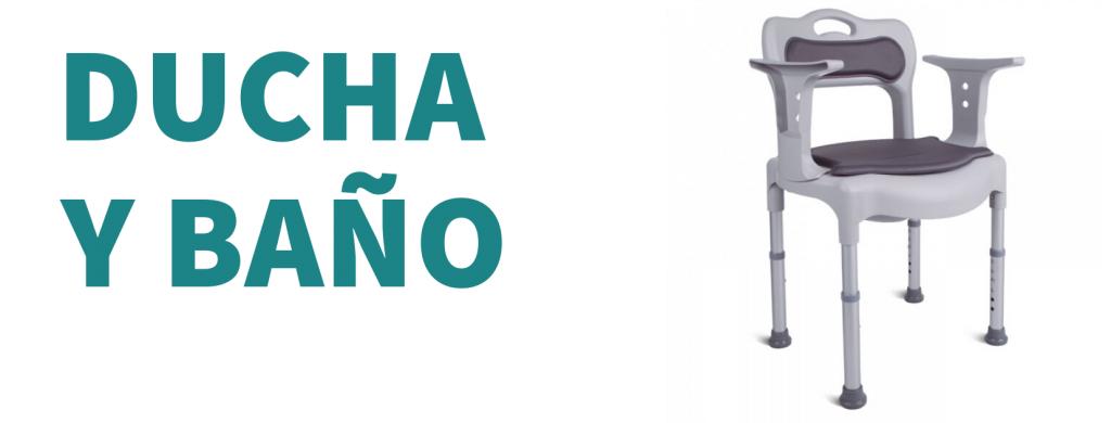Productos de ducha y baño de ortopedia en Valencia